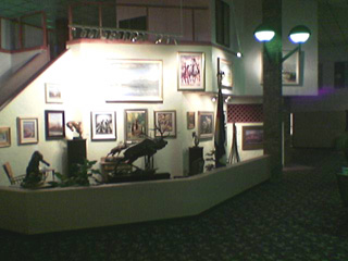 The Clarion's lobby