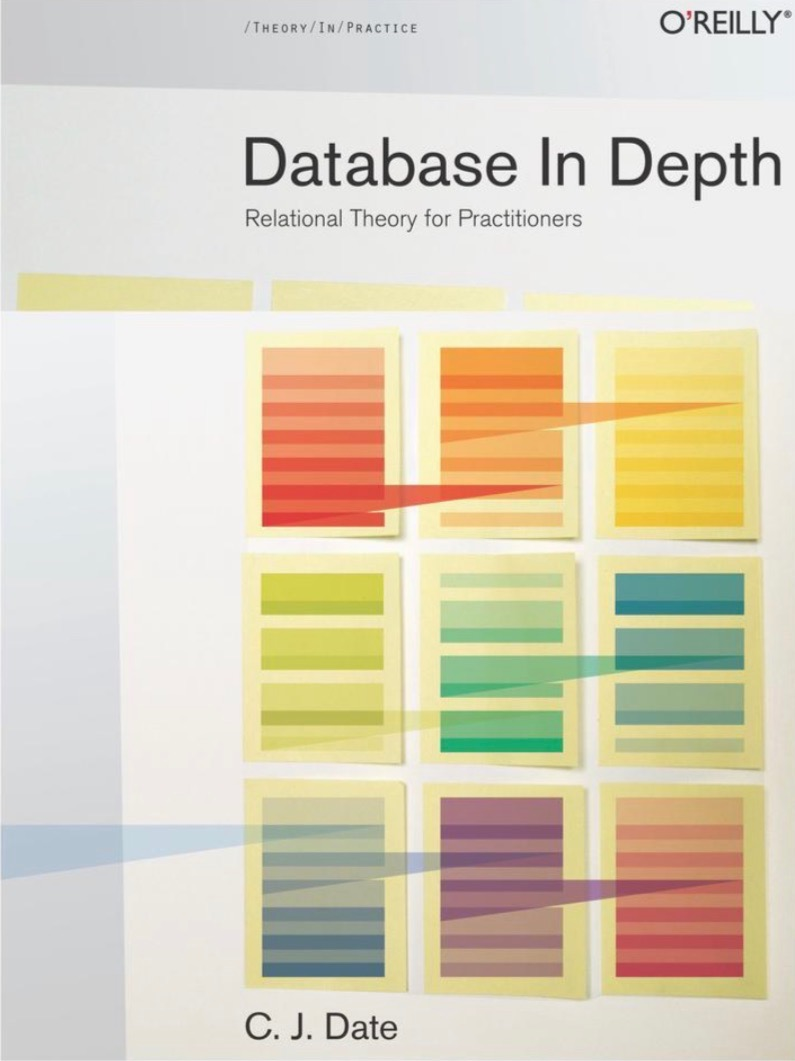 """Cover of """"Database In Depth"""" by C.J. Date"""