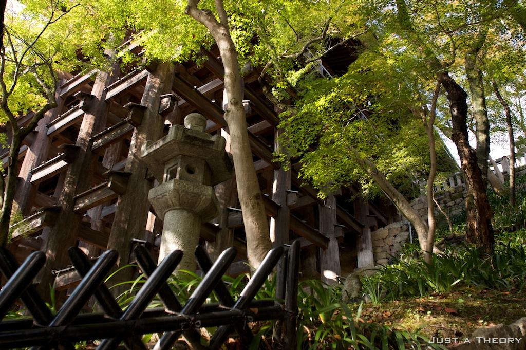 Kiyomizu Temple Stage
